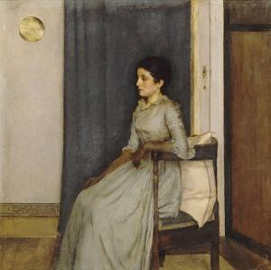 KHNOPFF, Marie Monnom 1887