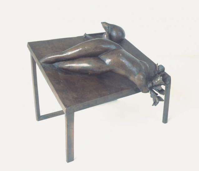 Banquet, 1976 cast bronze
